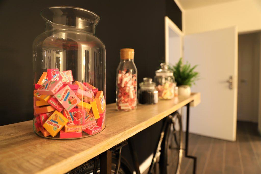 Musterhaus Emsland Candy Bar